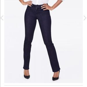 NYDJ Jeans NWT Marilyn straight let in rinse